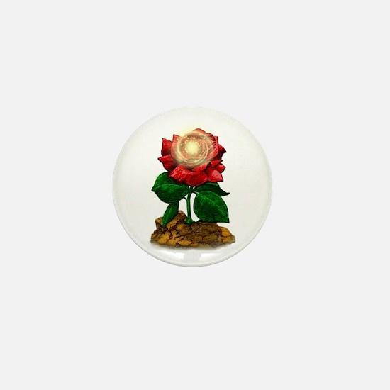Rose & Universe Mini Button