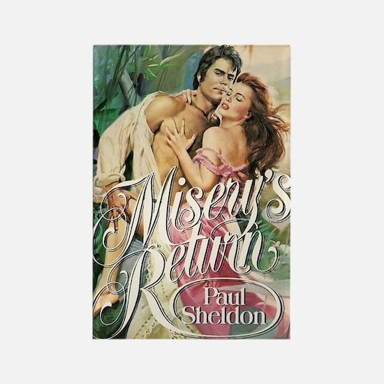 """""""Misery's Return"""" Rectangle Magnet"""