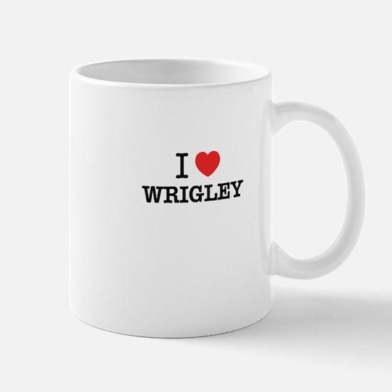 I Love WRIGLEY Mugs