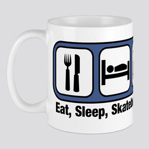 Eat, Sleep, Skateboarding Mug