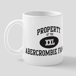 Property of Abercrombie Famil Mug