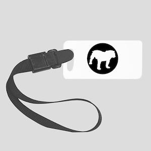 Bulldog Small Luggage Tag