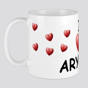 I Love Aryana - Mug
