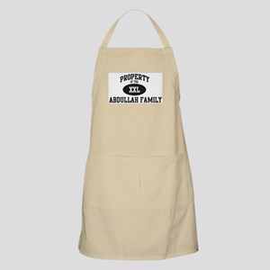 Property of Abdullah Family BBQ Apron