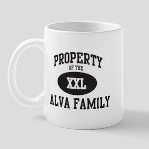 Property of Alva Family Mug