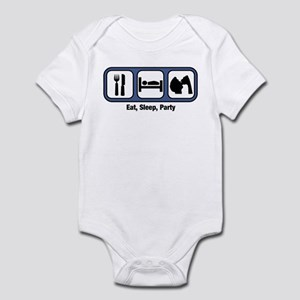 Eat, Sleep, Party Infant Bodysuit