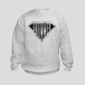 SuperDrummer(metal) Kids Sweatshirt