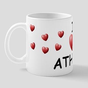 I Love Athena - Mug