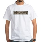 theViewergallery White T-Shirt