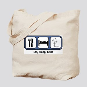 Eat, Sleep, Kites Tote Bag