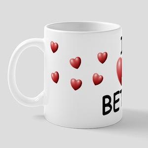 I Love Betsy - Mug