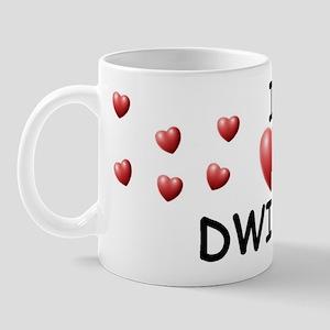 I Love Dwight - Mug