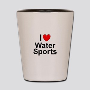 Water Sports Shot Glass