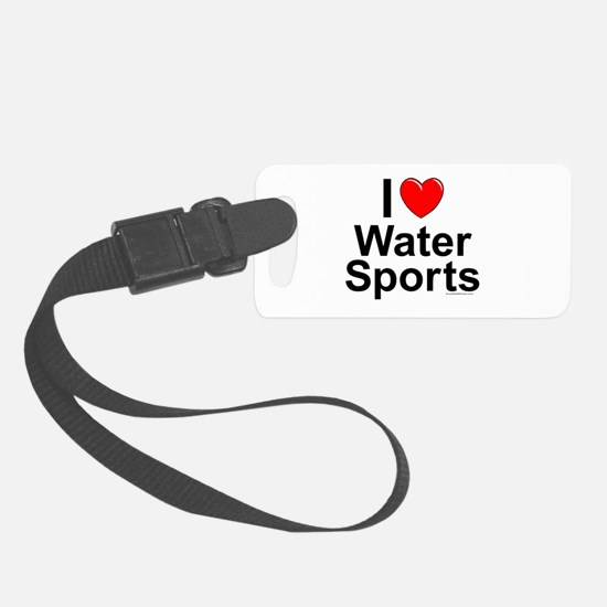 Water Sports Luggage Tag