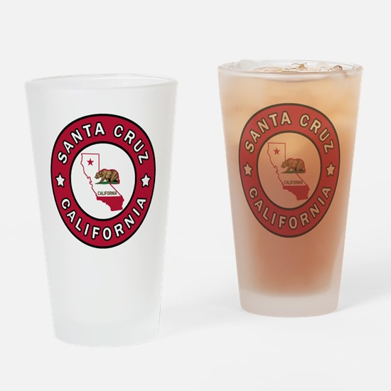 Cute Marina california Drinking Glass