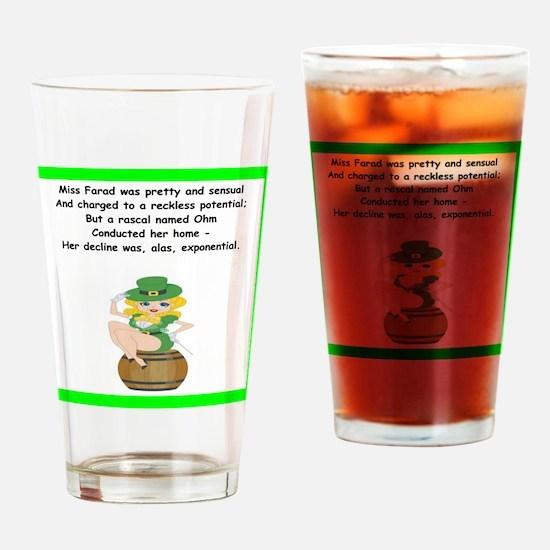 limerick Drinking Glass