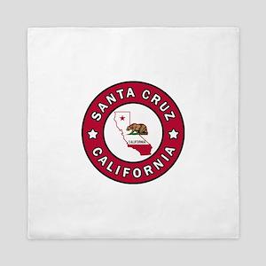 Santa Cruz California Queen Duvet