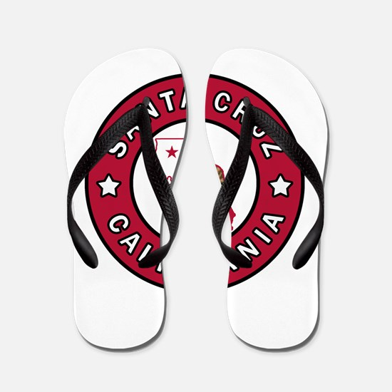 Santa Cruz California Flip Flops