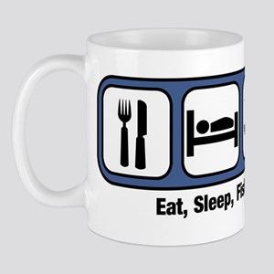 Eat, Sleep, Fish Mug