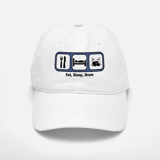 Eat, Sleep, Drum Baseball Baseball Cap