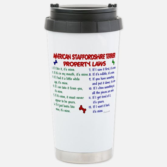 American Staffordshire Terrier Property Laws 2 Mug