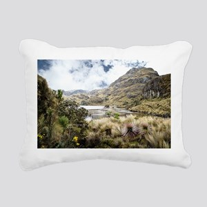 Cajas Rectangular Canvas Pillow