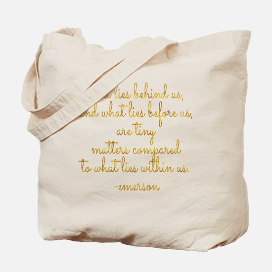 Funny Faux gold Tote Bag