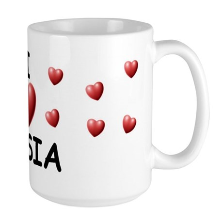 I Love Dasia - Large Mug