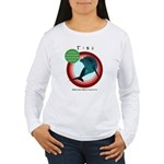 Dolphin Tina Women's Long Sleeve T-Shirt