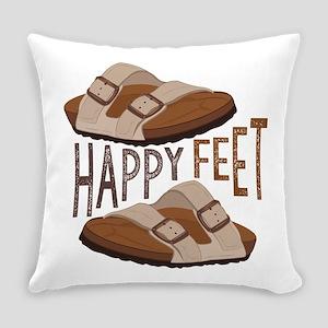 Happy Feet Everyday Pillow