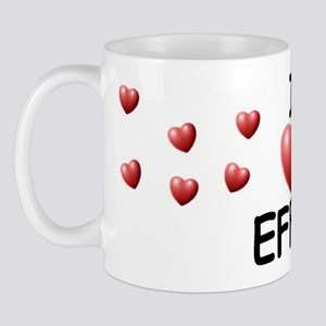 I Love Effie - Mug