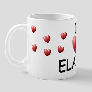 I Love Elaina - Mug