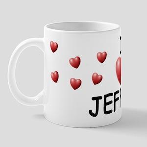 I Love Jeffery - Mug