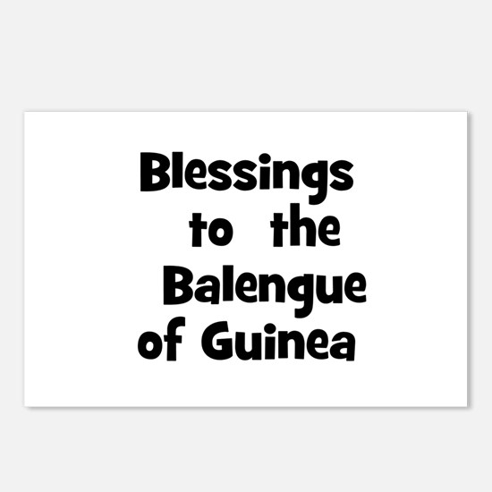 Blessings  to  the  Balengue  Postcards (Package o