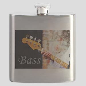 Bass Guitar Flask