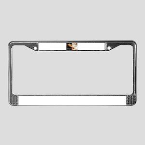 Bass Guitar License Plate Frame