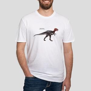 Tyrannosaurus Dinosaur Carnivore (Front) Fitted T-