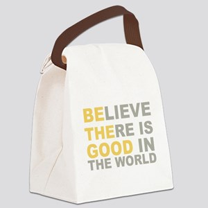 Be the Good Believe Canvas Lunch Bag