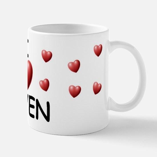 I Love Keven - Mug