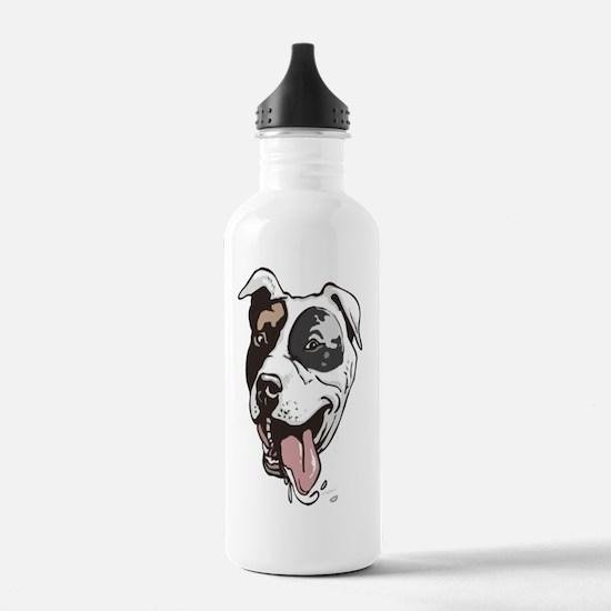 Cute Pitbull s Water Bottle