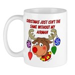 Christmas without my Airman Mug