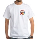 Christmas without my Airman White T-Shirt