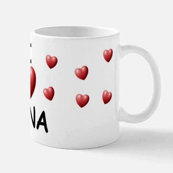 I Love Gina - Mug