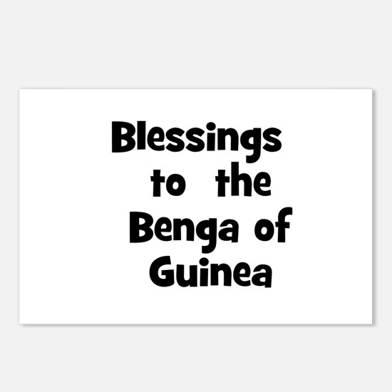 Blessings  to  the  Benga of  Postcards (Package o