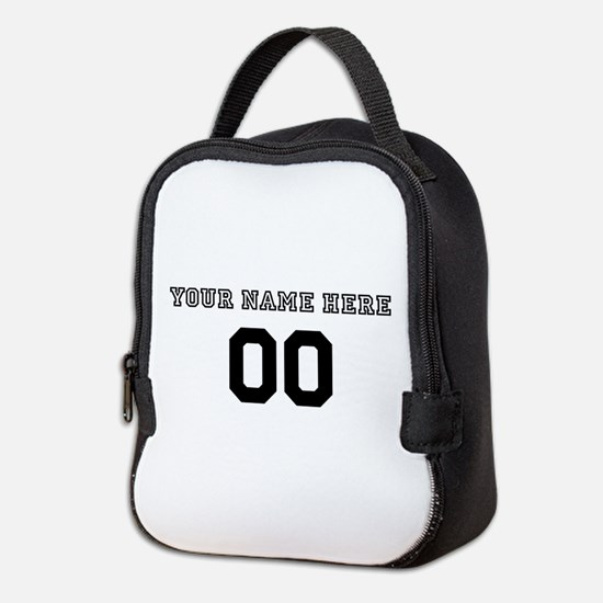 Personalized Baseball Neoprene Lunch Bag