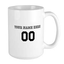 Personalized Baseball Large Mug