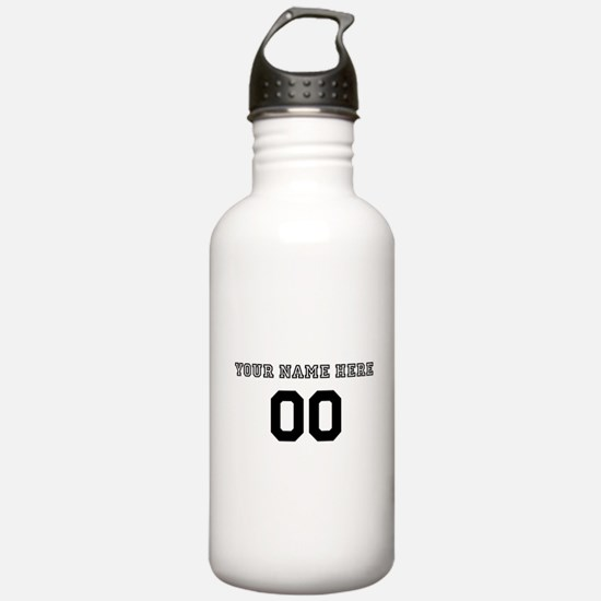 Personalized Baseball Sports Water Bottle