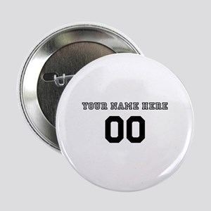 "Personalized Baseball 2.25"" Button"