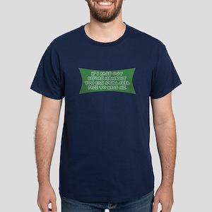 Funny New Year's T-shirts & G Dark T-Shirt