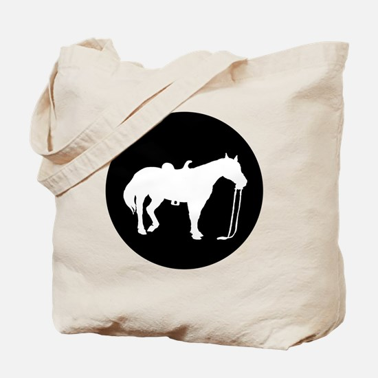 Funny Horse themed women Tote Bag